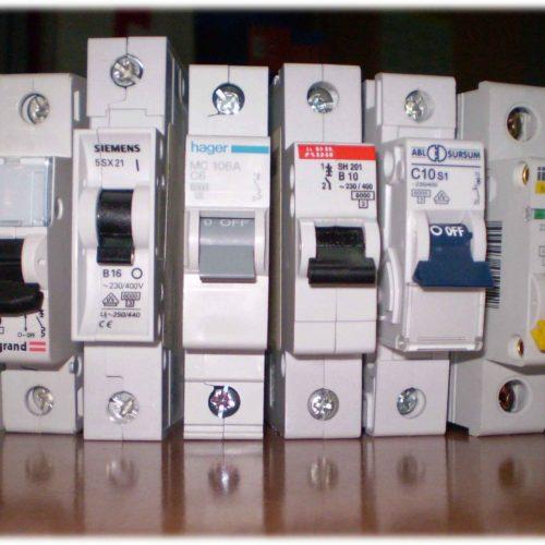 Автоматические выключатели и выключатели диф тока