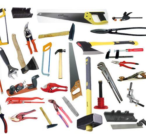 Столярные и слесарные инструменты