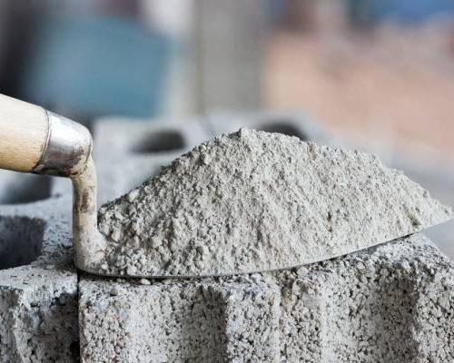 Цемент, цементно-песчаные смеси и инертные смеси